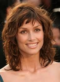 medium curly hairstyles for women over 40 - Google Search