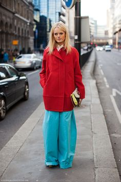 Hanne Gaby knows how todress
