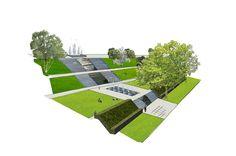 Buro Sant en Co landschapsarchitectuur - Dakpark Vierhavenstrip