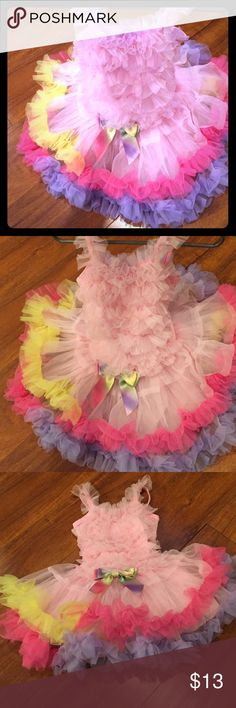 Girls tutu outfit🎀 Not sure on the size it says XS on the tag but it's looks like a 2t Pochew Costumes Dance