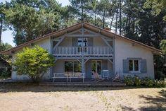 Maison bois typique landaise par Alaya - la maison bois par maisons ...