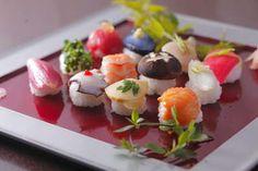 ball shape sushi