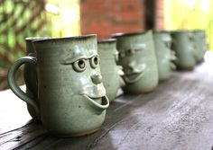 1000+ images about Clay cups & mugs on Pinterest | Dr. oz, Cool ...