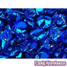 🍭 Blue Foil Candy Buttons - Fruit Flavor - Blue Candy - Candy By Color Candy Buttons, Candy Bar Wedding, Blue Candy, Candy Store, Metallic Blue, Hard Candy, Shades Of Blue, The Help, Fruit