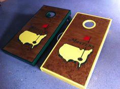The Masters Cornhole Board Sets