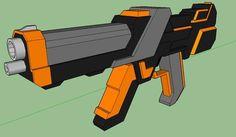 V-2 Rocket Paper Model Ver.4 Free Template Download | Papercraft ...