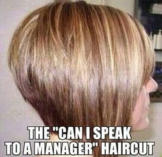 We all know the haircut.