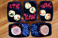 Meal Prep Breakfasts for the 21 Day Fix 2,100-2,399 Calorie Level | BeachbodyBlog.com