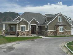pictures of houses with stone and siding - Google Search