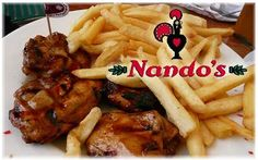 Nando's Peri Peri Chicken ... Looks so good!  They need to get nandos in America!