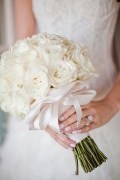 Elegant Tuscan Wedding Bouquet