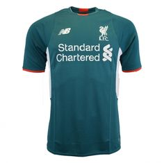 Liverpool 2015 2016 Away Goalkeeper Shirt (Green) - Available at  uksoccershop.com. Goalkeeper ShirtsSoccer KitsFootball ... 8490029d5