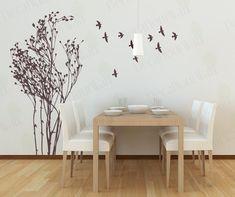 Tree Wall Decal Living room Decals Bedroom Wall door decalyourwall