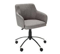 Buy Hygena Sasha Height Adjustable Office Chair - Grey at Argos.co.uk - Your Online Shop for Office chairs, Office furniture, Home and garden.