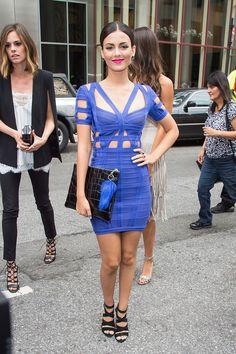 Victoria Justice à la Fashion Week de New York