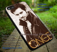 Cool Captain | Captain Hook | Once Upon a Time iPhone 6s 6 6s  6plus Cases Samsung Galaxy s5 s6 Edge  NOTE 5 4 3 #movie #cartoon #disney #animated #onceuponatime ii
