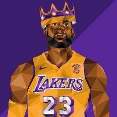 King Lebron James, Lebron James Lakers, King James, Basketball Art, Basketball Pictures, Basketball Players, Lebron James Wallpapers, Nba Wallpapers, Nba Funny