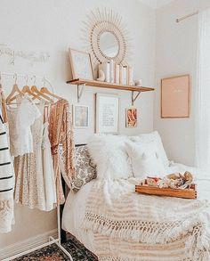 Cute Bedroom Decor, Bedroom Decor For Teen Girls, Room Design Bedroom, Girl Bedroom Designs, Room Ideas Bedroom, Bedroom Inspo, Dream Bedroom, Aesthetic Room Decor, Cozy Room