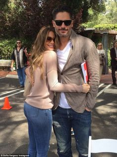 First one: Sofia Vergara shared an Instagram snap on Sunday marking her first Easter with fiance Joe Manganiello