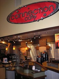 christian coffee shop names - Bing images Church Lobby, Church Foyer, Coffee Area, Coffee Room, Church Interior Design, Church Stage Design, Coffee Shop Names, Coffee Shops, Church Welcome Center