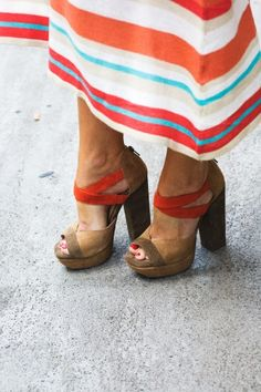 Red + Camel Platforms