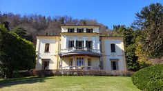 Holiday villa Favorita for rent in Meina Arona, Lake Maggiore - Italy luxury vacation rentals Lake Maggiore Italy, Northern Italy, Luxury Villa, Renting A House, Beautiful Places, Mansions, House Styles, Holiday Rentals, Italy Vacation