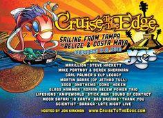Se anunció el Cruise To The Edge 2018    LOS ÁNGELES Mayo de 2017 /PRNewswire/ - Se anunciaron los detalles de la quinta excursión anual CRUISE TO THE EDGE el mayor festival del rock progresivo presentado por YES el ícono del rock clásico. Con la presentación de algunos de los mayores artistas musicales del rock progresivo en el ámbito mundial entre el 3 y el 8 de febrero del año próximo se desarrollará nuevamente el crucero de cinco noches a bordo del premiado Brilliance Of The Seas de…