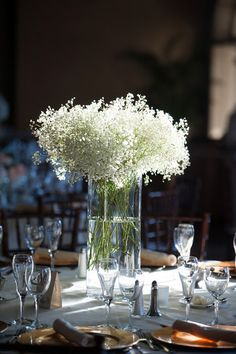 Baby's Breath Flower Ideas, Wedding Flowers Photos by Jen Shannon Photography