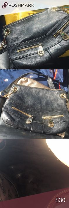 Black MK Purse In excellent shape no stains or rips just purging my closet. Michael Kors Bags Mini Bags
