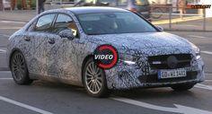 A-Class Sedan Is Mercedes' Take On BMW 1-Series Saloon