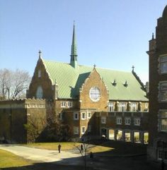 """A School of Mind and Spirit"", MAXIME GOSSELIN (Student)  The old chapel at Concordia's Loyola campus. Here, it only takes a moment to get miles away from the classroom's mental struggles and travel through time to a peaceful place. #CUcontest #CUslice"