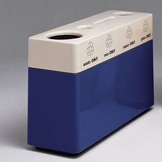 Witt Fiberglass Recycling 48-Gal Multi Compartment Recycling Bin Color: Indian Clay