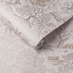 Soft blush pinks are married with oriental design, creating the beautiful Basuto Pink wallpaper. Oriental Wallpaper, Brown Wallpaper, Chinoiserie Wallpaper, Wallpaper Direct, Wallpaper Samples, Pink Wallpaper, Luxury Wallpaper, Home Wallpaper, Chinese New Year Wallpaper
