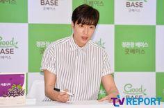 2016 June 29 (Wed) | #ActorLeeMinHo | #LeeMinHo | #Korean #Actor #HallyuStar | #ASIA Most Popular #IDOL| Fan Sign |#Autograph | #Minoz | #GoodBase |#Korea #Ginseng | KGC | #Chokeberry | #Blueberry | #Pomegranate | #Pear | P02 of P08 |(Source: TV Report  | Facebook |  [https://www.facebook.com/tvrnews/photos/ms.c.eJxFzNkNwEAIA9GOIjCYo~;~;GopA9fp88VpinRUqQlW2PbuhqKOKCAfSQDZWT5FlU~;cALkzgWpPA7ldYDPQn9BU4LG4g~-.bps.a.1234736659892131.1073742314.392457514120054/1234736883225442/?type=3&theater]