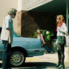"""Rose as dancer Athena and Ray Liotta as her father in """"Sticky Notes"""" #roseleslie…"""