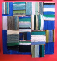 could be for teaching cloth, flags, Kids Art Class, Art For Kids, Kid Art, Collages, Collage Art, Group Art Projects, 6th Grade Art, Art Activities For Kids, Textiles