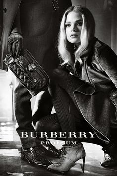 'Footsteps and Shadows' featuring Gabriella Wilde - Burberry Autumn/Winter 2012 campaign