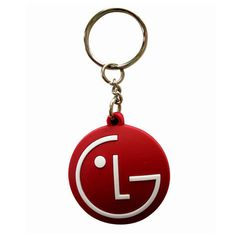 LG Rubber Keychain