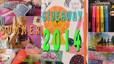 Back to School Supplies Giveaway 2014!!! INTERNATIONAL!!!