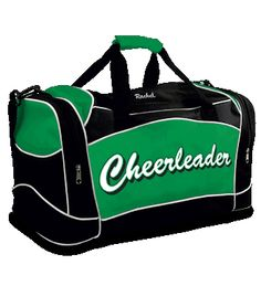 983f95a56a Chassé Travel Duffle Bag with Cheerleader Imprint Cheerleading Bags