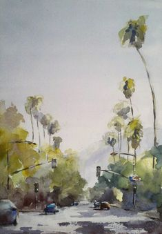 """""""Northbound on Lincoln, Pasadena"""" by Julie Hill"""