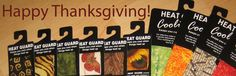 Happy Thanksgiving from Practical Design. Stay Cool. #Thanksgiving #coolingties #coolingpads