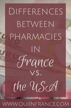 I love shopping in a French pharmacies!