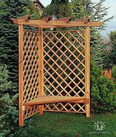 Garden screen