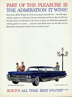 1960 Buick Electra 225 Four Door Riviera