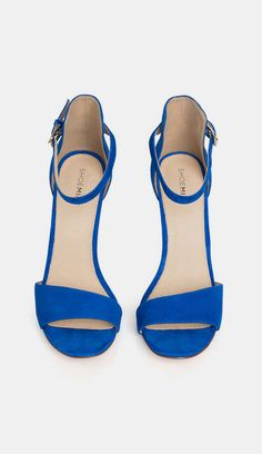 These shoes are super! I Love a nice blue shoe. #sole