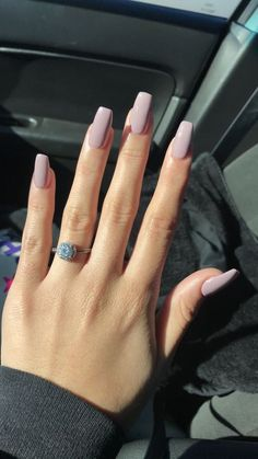 125 years of fingernail trends In search for some nail designs and ideas for your nails? Here's our list of 43 must-try coffin acrylic nails for trendy women. Simple Acrylic Nails, Best Acrylic Nails, Pastel Nails, Acrylic Nail Designs, Simple Nails, Pastel Pink, Basic Nails, Classy Nails, Stylish Nails