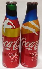 *S* 2 Coca-Cola OLYMPIC GAMES Aluminum Bottles From Venezuela HARD TO FIND