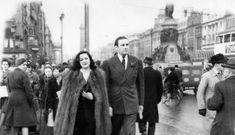 Marlon Brando's second wife Movita and boxer Jack Doyle Ireland Homes, Marlon Brando, Free Travel, Vintage Photography, The Guardian, Old Hollywood, Dublin, Old Photos, Movie Stars