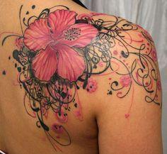 18 Shoulder Tattoos For Women http://tiredofthestruggle.weebly.com/